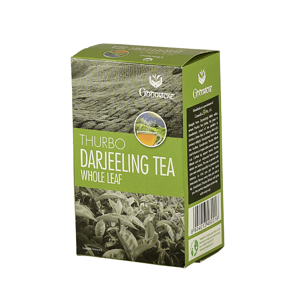 Thurbo Darjeeling Whole Leaf Tea 3 Months Subscription (100 Grams)