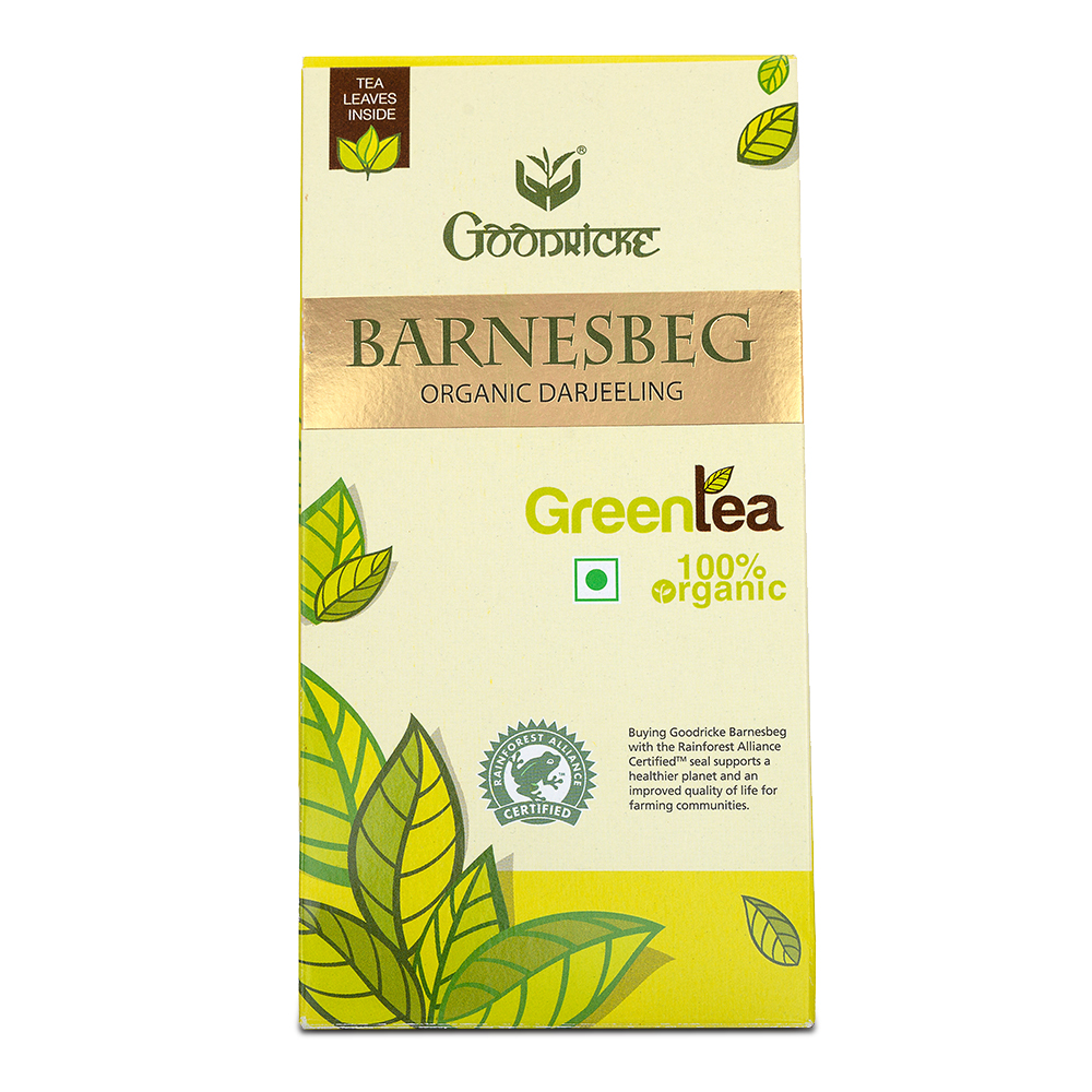 Barnesbeg Organic Green Tea 6 Months Subscription (100 Grams)