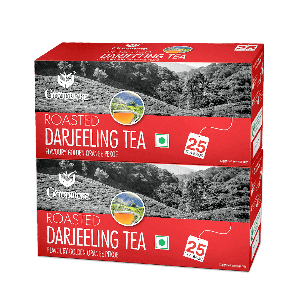 Roasted Darjeeling Tea 6 Months Subscription (50 Tea Bags)