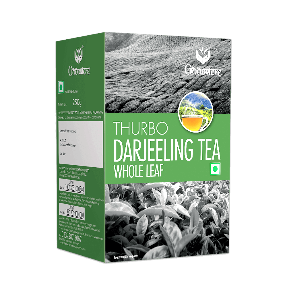 Thurbo Darjeeling Tea Whole Leaf 6 Months Subscription (250 Grams)