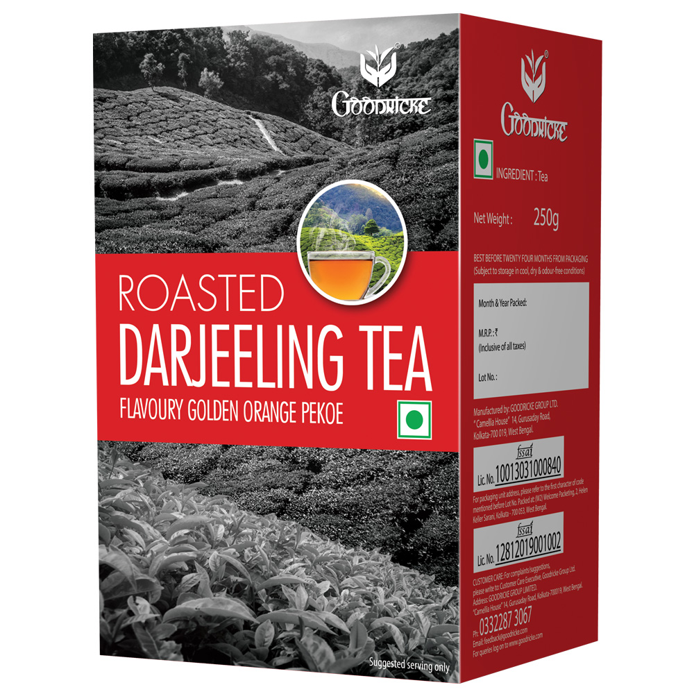 Roasted Darjeeling Tea 3 Months Subscription (250 Grams Carton)