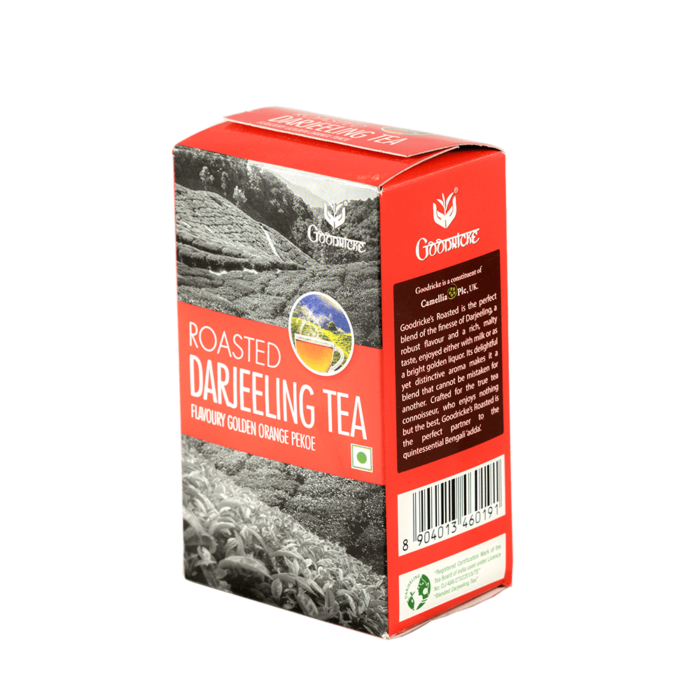 Tea Subscription - Roasted Darjeeling Tea Carton (100 gms - 6 Month)