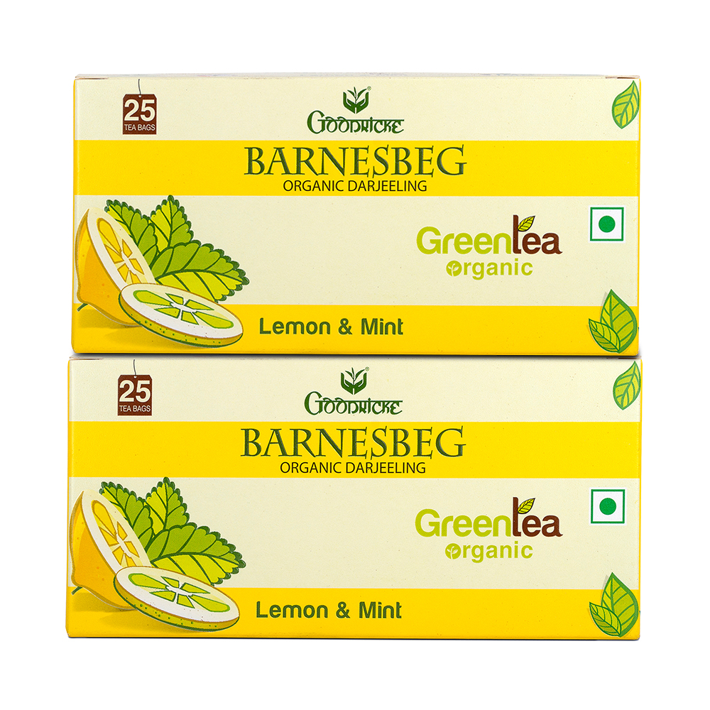Barnesbeg Lemon - Mint Tea 3 Months Subscription (50 Tea Bags)