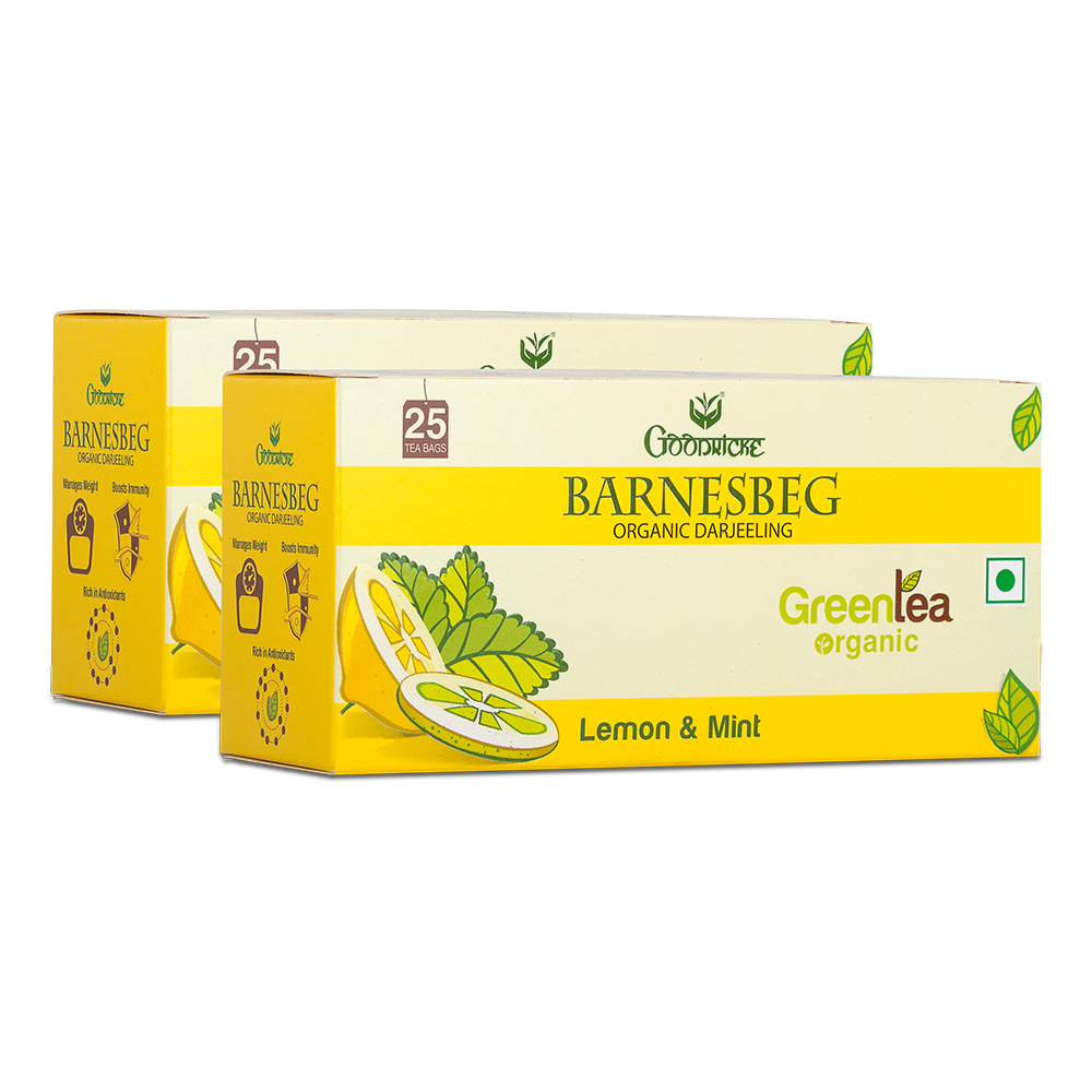 Barnesbeg Tea - Buy Barnesbeg Lemon & Mint Green Tea (50 Tea Bags)