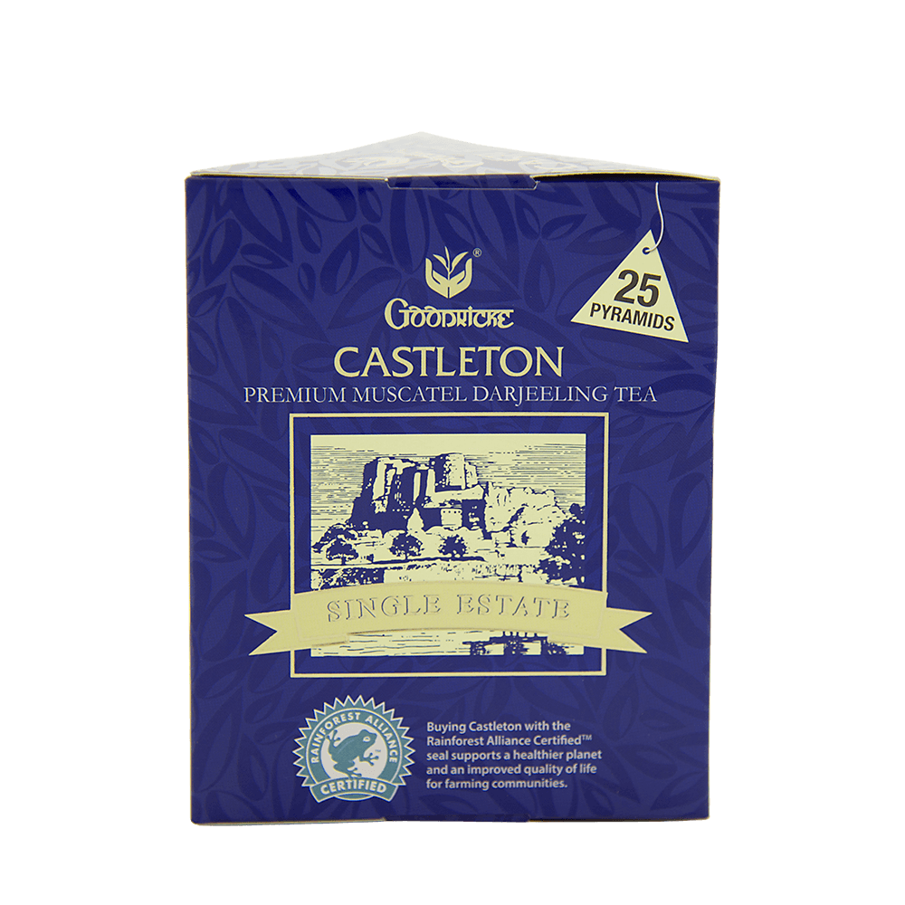 Castleton Pyramid Tea 6 Months Subscription (25 Tea Bags)