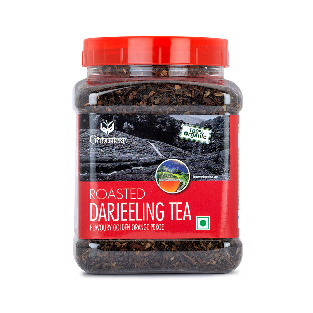 Darjeeling Tea - Roasted Darjeeling Tea Jar (250 Grams)